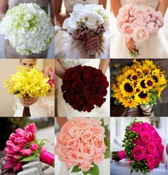 Post ajudando noivas que não sabem por onde começar com o buquê, com ideias, formatos, cores, combinações e modelos criativos.