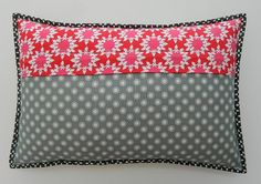 paper pieced pillow (back) | Flickr - Photo Sharing!