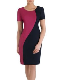 New Arrivals Women Fashion Dresses Patchwork Bandage Dress Sleeveless V-Neck Knee Length Pencil Party Dress Modest Dresses, Simple Dresses, Elegant Dresses, Casual Dresses, Short Dresses, Dress Sewing Patterns, Clothing Patterns, Official Dresses, Dress Outfits