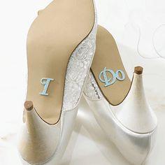 """""""I Do"""" Shoe Stickers"""