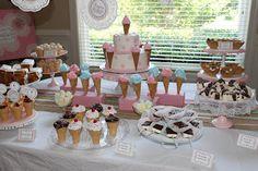 Grayson's Ice Cream Parlour First Birthday Party