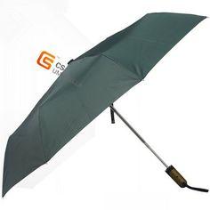 three fold solid colorauto open and close umbrella