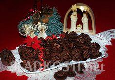 Kakaové dortíky s oříškovými pusinkami