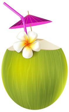Exotic Drink PNG Transparent Clip Art Image