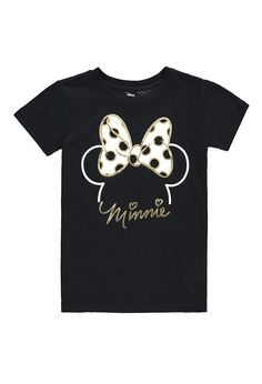 Minnie Mouse Bow Tee (Kids) | Forever 21 girls - 2000180807