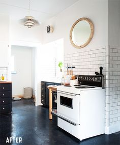 Amazing vintage kitchen renovation done on a budget of just $1230