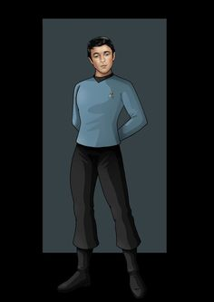 lieutenant brent by nightwing1975