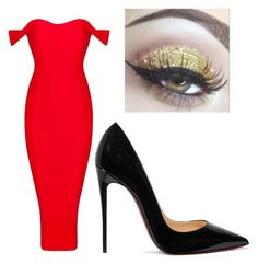 """""""Untitled #24"""" by caitlinacker on Polyvore featuring Christian Louboutin"""