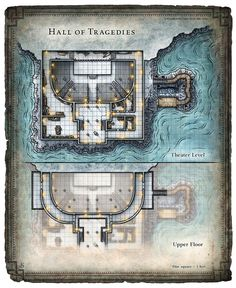 Dungeon #219 - Blades of the Stygian Mask; Hall of Tragedies (Digital DM & Player Versions) $1.75