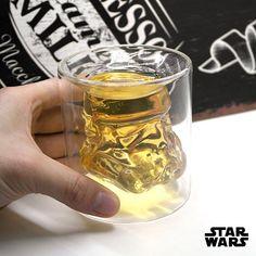 Star Wars Stormtrooper Double Glass Beer Mug