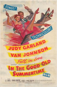 Movie musicals are the best. Plus, its Judy Garland. What more is there to say?-HJM-