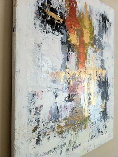 20x24 OneofaKind Abstract Acylic Painting by xXGlamLambDesignsXx, $349.00