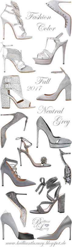 Brilliant Luxury by Emmy DE ♦ Fashion Color Fall 2017 ~ neutral grey ~ Part I
