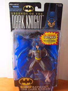 BATMAN DC LEGENDS OF THE DARK KNIGHT # 64249 PREMIUM FIGURE NEW IN PKG KENNER 97 #Kenner