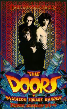 """The Doors <3  """"Before you slip into unconsciousness, I'd like to have another kiss. Another lashing chance at bliss, another kiss, another kiss."""""""