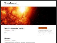 Thème WordPress Stargazer