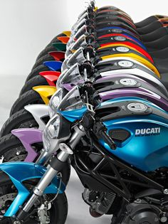 Ducati monster colors.