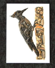 Woodpecker от PEBBLEMOSAICS на Etsy