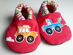 Buy Now Red monster truck baby shoesboy baby bootiessoft sole...