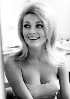 Sharon Tate in a salon, 1965