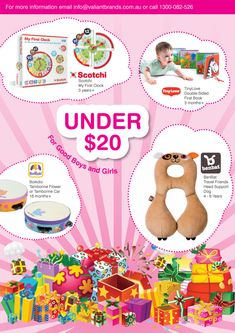 GIFT IDEAS UNDER $20 toys for newborns to 12 months to 18 months to 8 years+. to find out where to buy our gift ideas, email mailto:info@valiantbrands.com.au Newborn Toys, Newborns, Car Head, Support Dog, Flower Car, 2 Year Olds, Childrens Gifts, Inspirational Gifts, 18 Months