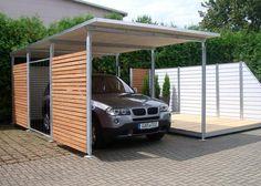 openPR - Modern, attraktiv und wartungsfrei - die Carports, Fahrradunterstände und Gerätehäuser von GAR-TEC - Pressemitteilung von GAR-TEC GmbH