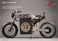 Project DCH1 Naked Electric Motorcycle by DCH Motion | Moto Verso
