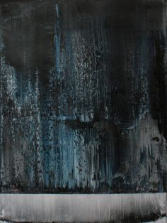 "Koen Lybaert; Oil 2014 Painting ""abstract N° 993"""