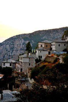 Makrinitsa village, Thessalia, mountain Pilio #Greece
