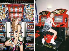 I shot the beautiful Jessica Clarke for the Nasty Gal x Lazy Oaf collab. Video by Sam Hiscox. Photoshoot Themes, Retro Arcade, How To Pose, Nasty Gal, Editorial Fashion, Fashion Photography, Play, Lazy Oaf, Instagram