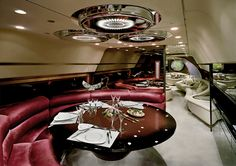 Nick Gleis has a series of photos that reveal the interior opulence of the private jets owned by African dictators in the and Jets Privés De Luxe, Luxury Jets, Luxury Private Jets, Private Plane, Luxury Yachts, African Dictators, Brighton Photography, Private Jet Interior, Luxury Helicopter
