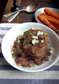 Sauerbraten (German Pot Roast) recipe from Food52