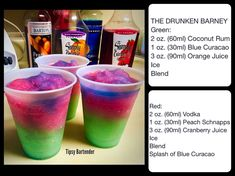 Pin by Lakeysha Lindsey on drinks 4 me in 2019 Candy Alcohol Drinks, Liquor Drinks, Alcohol Drink Recipes, Beverages, Cocktails, Cocktail Drinks, Tequila, Alcholic Drinks, Frozen Drinks