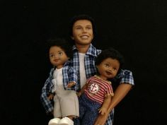 Happy Family Barbie African American Barbie Dolls Allan and Ryan Ryan | eBay