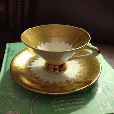 My beautiful wintering Bavaria tea cup and saucer... My inspiration!!