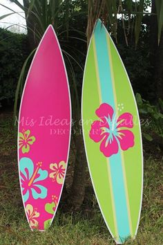Tablas de surf para decorar