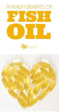 Do you take fish oil? Here are nine health benefits of fish oil!