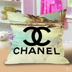 Chanel vintage Beach Pillow Cases
