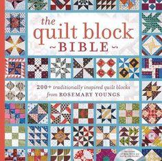 The Quilt Block Bible: 200+ Traditionally Inspired Quilt ... https://www.amazon.com/dp/1440238502/ref=cm_sw_r_pi_dp_x_PUWszbPYK4WPZ
