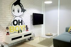 Get inspired with these unconventional and unique homes in Singapore - from Star Wars and Mickey Mouse themes to eclectic, retro and resort styles. Design Your Dream House, My Dream Home, House Design, Free Interior Design, Interior Design Companies, Astro Boy, 3d Home, Small Living Rooms, Unique Home Decor