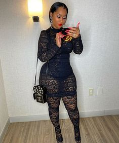 Don't talk about my phone case my baby bought it for me! Thick Girl Fashion, Dope Outfits, African Women, Beautiful Black Women, Plus Size Fashion, Sexy Women, Stylish, Clothes, Tammy Rivera Instagram