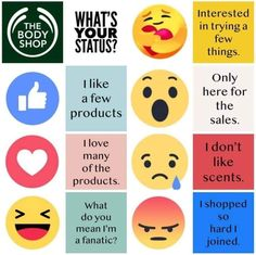 Well, what is your status? 🤔💙 Diy Store, Cool Store, Body Shop At Home, The Body Shop, Online Beauty Store, Maskcara Beauty, Makeup Store, Beauty Boutique, Host A Party