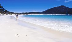 100 Things To Do Before You Die. Australia's Most Beautiful Beach, Wineglass Bay, Tasmania Most Beautiful Beaches, Beautiful Places, Places To Travel, Places To Go, Australia Travel Guide, 100 Things To Do, Beaches In The World, Australia Living, Ultimate Travel