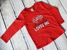 Cupid Shirts, Boys Funny Shirt, Valentines Shirt, Boy Valentine Shirt, Kids Valentines, Funny Baby Clothes, Valentines Day Shirt, Cupid by ItsASignDesignsbyJen on Etsy
