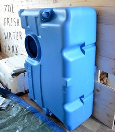 Installing water system in my campervan conversion. This covers the fresh tank, pump and waste tank installation in my van...