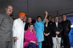 Vaisakhi celebration in Surrey largest in North America  (Indo-Canadian Voice 25 April 2014)