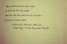 my candle burns at both ends poem | My Candle Burns At Both Ends