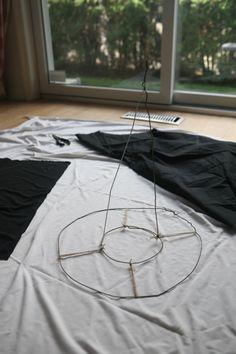 wire hanger witch hat