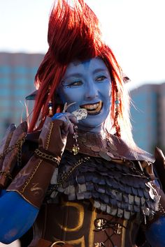 World of Warcraft Troll #Cosplay #fanime2012