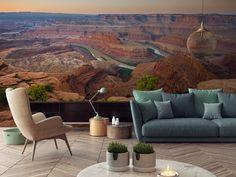 Malownicze fototapety – prosty sposób na urokliwy krajobraz w mieszkaniu